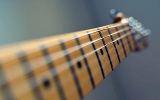 Устранение неполадок грифа гитары